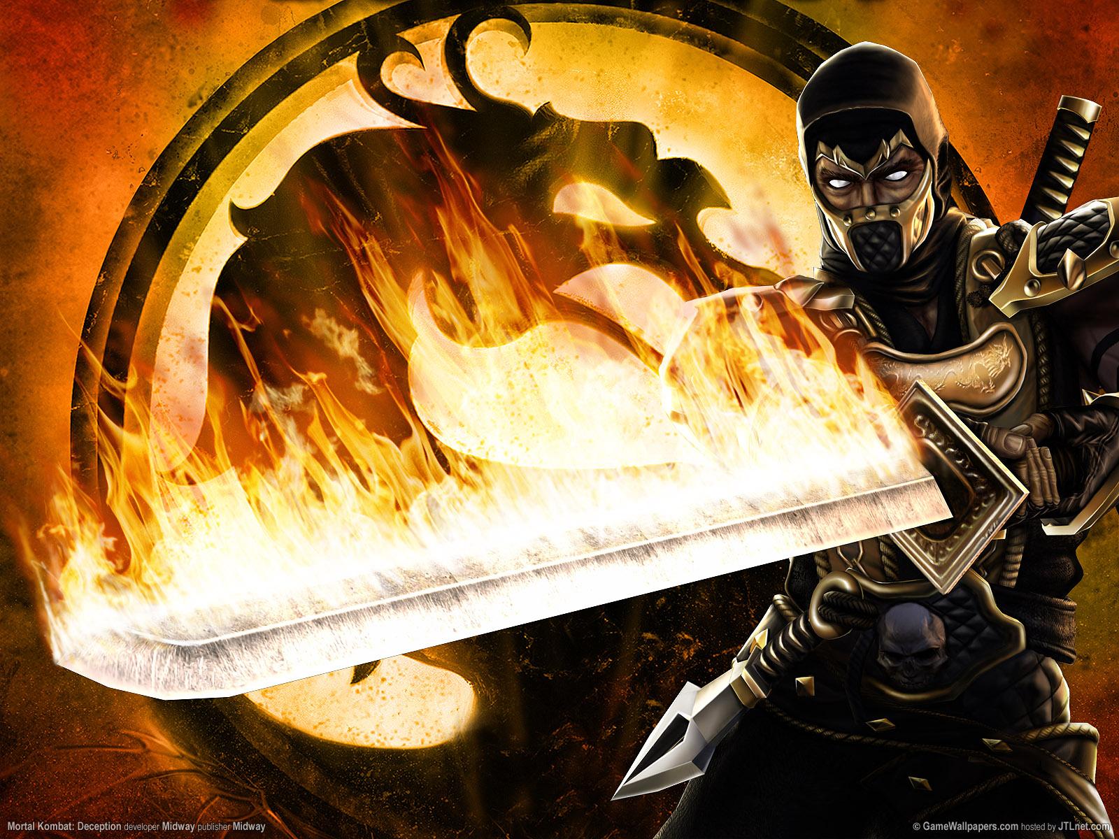 feira 26 de fevereiro de 2013 Marcadores Wallpaper Mortal Kombat 1600x1200