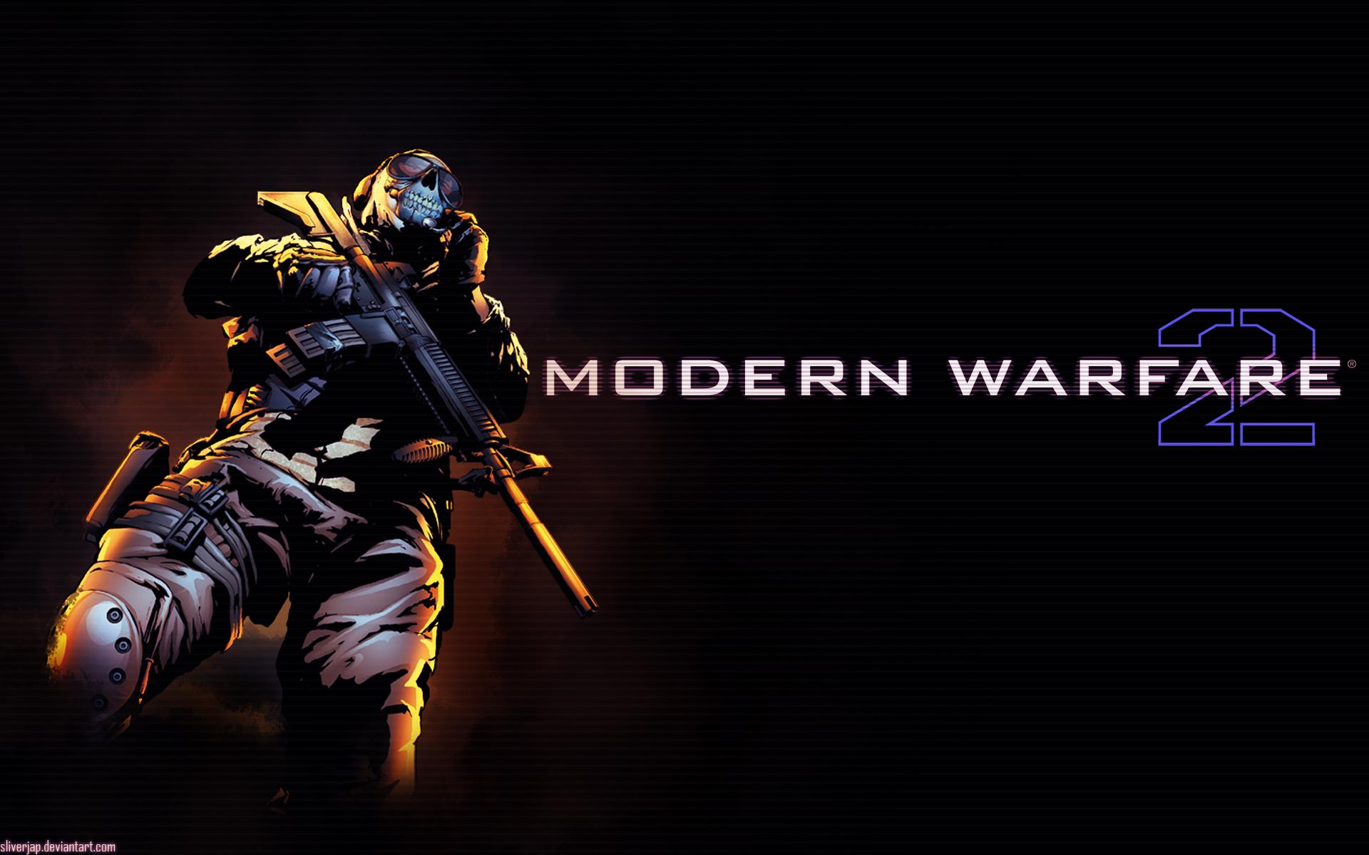 ... Modern Warfare 2 Ghost Art Google Backgrounds, Modern Warfare 2 Ghost