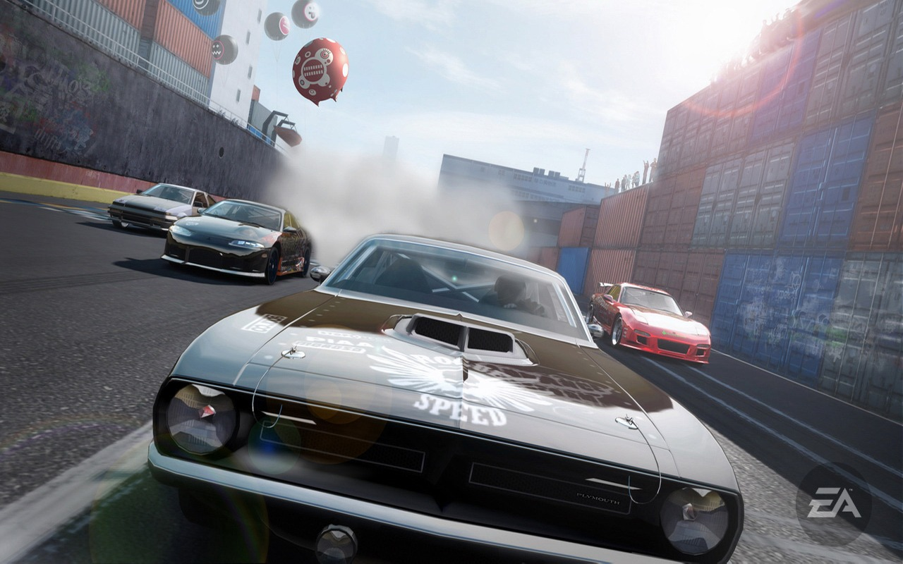 Download Pro Street Muscle Car Wallpaper NFS Pro Street Games 1280x800
