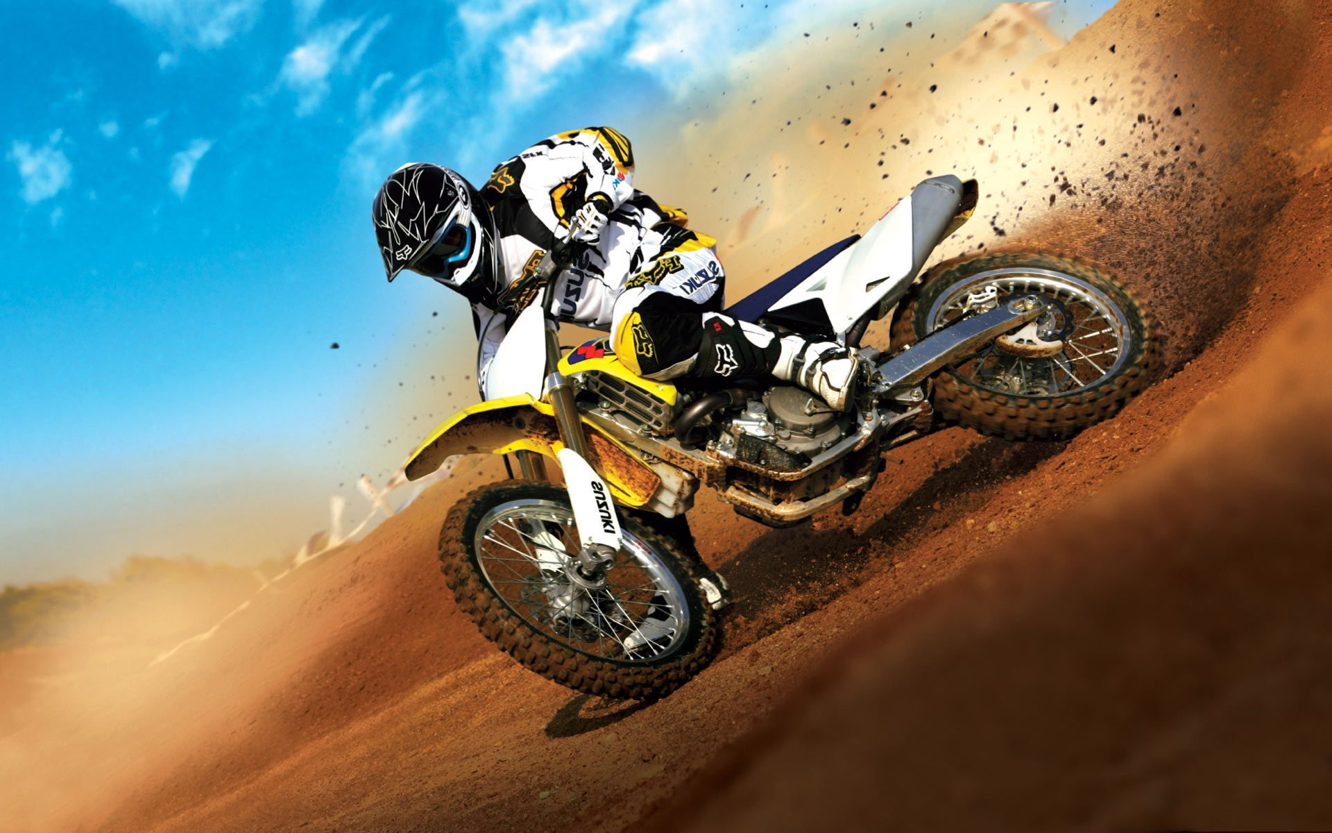 42 ] Motocross Track Wallpaper On WallpaperSafari