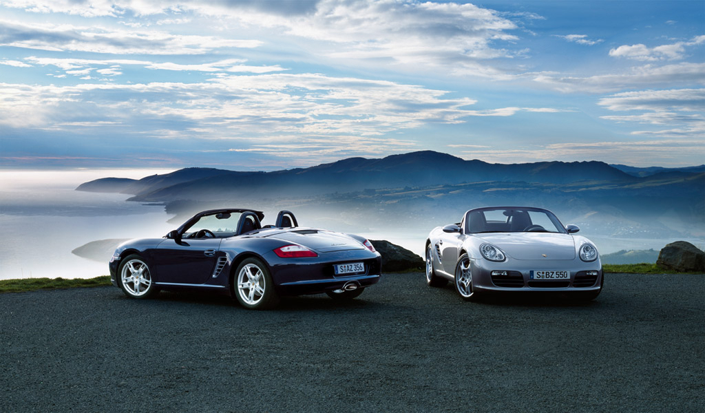 Top Engine Porsche Boxster S Wallpapers 1024x600