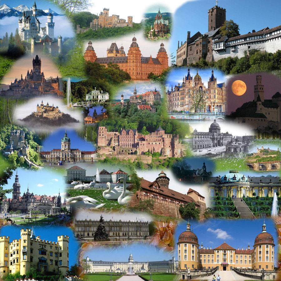 German Castles by Arminius1871 900x900