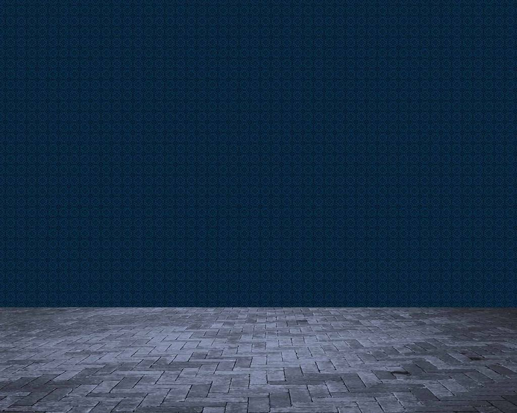 Deep Blue Background With Wood Floor Backdrop For Photography 1024x819