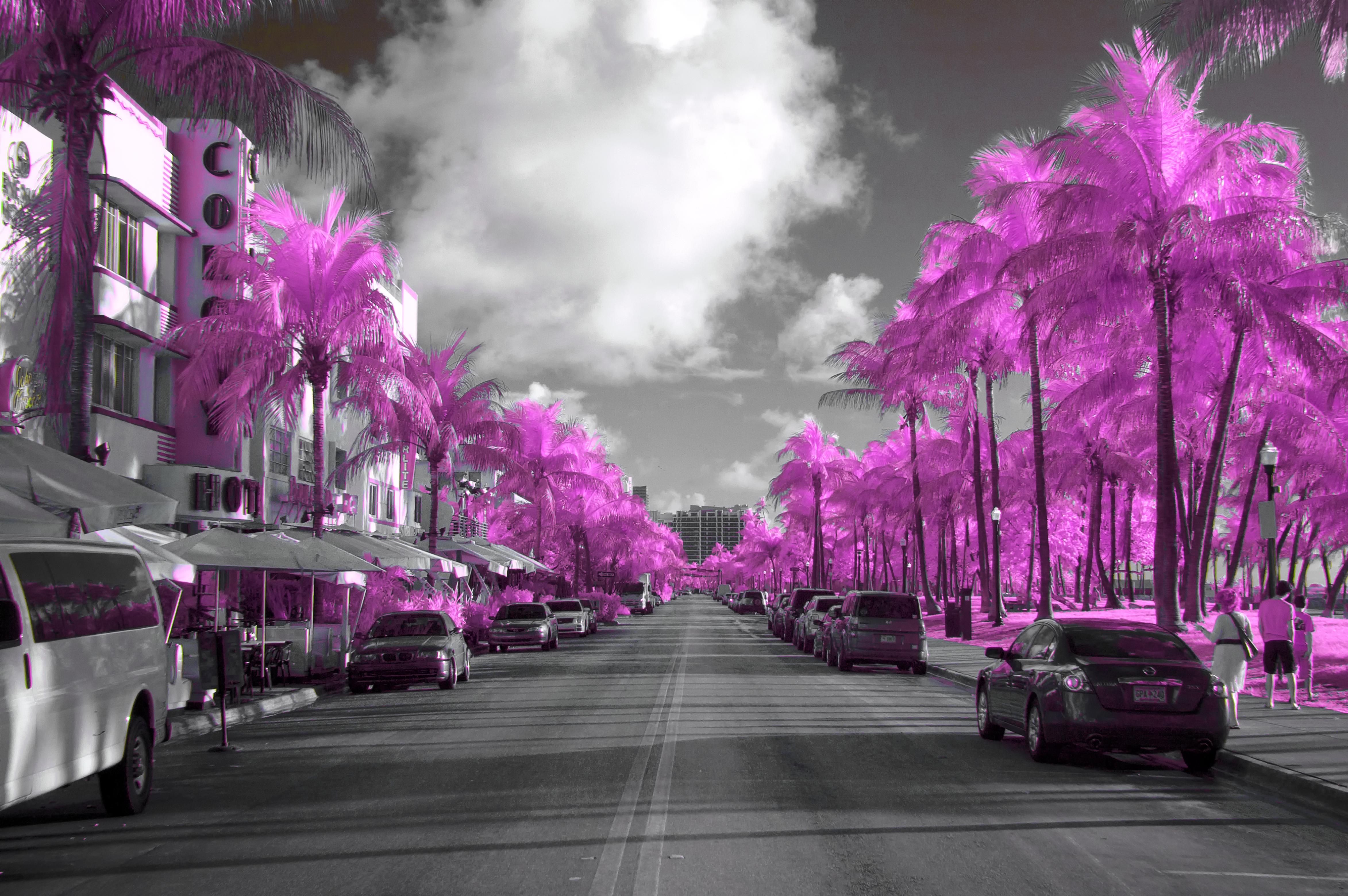 South Beach Wallpaper HD Landscape Wallpaper 4692x3120