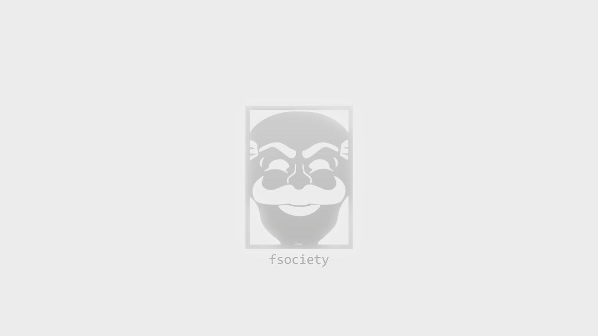 FSociety - Minimalistic - White [1920x1080] by kozmosindigo on ...