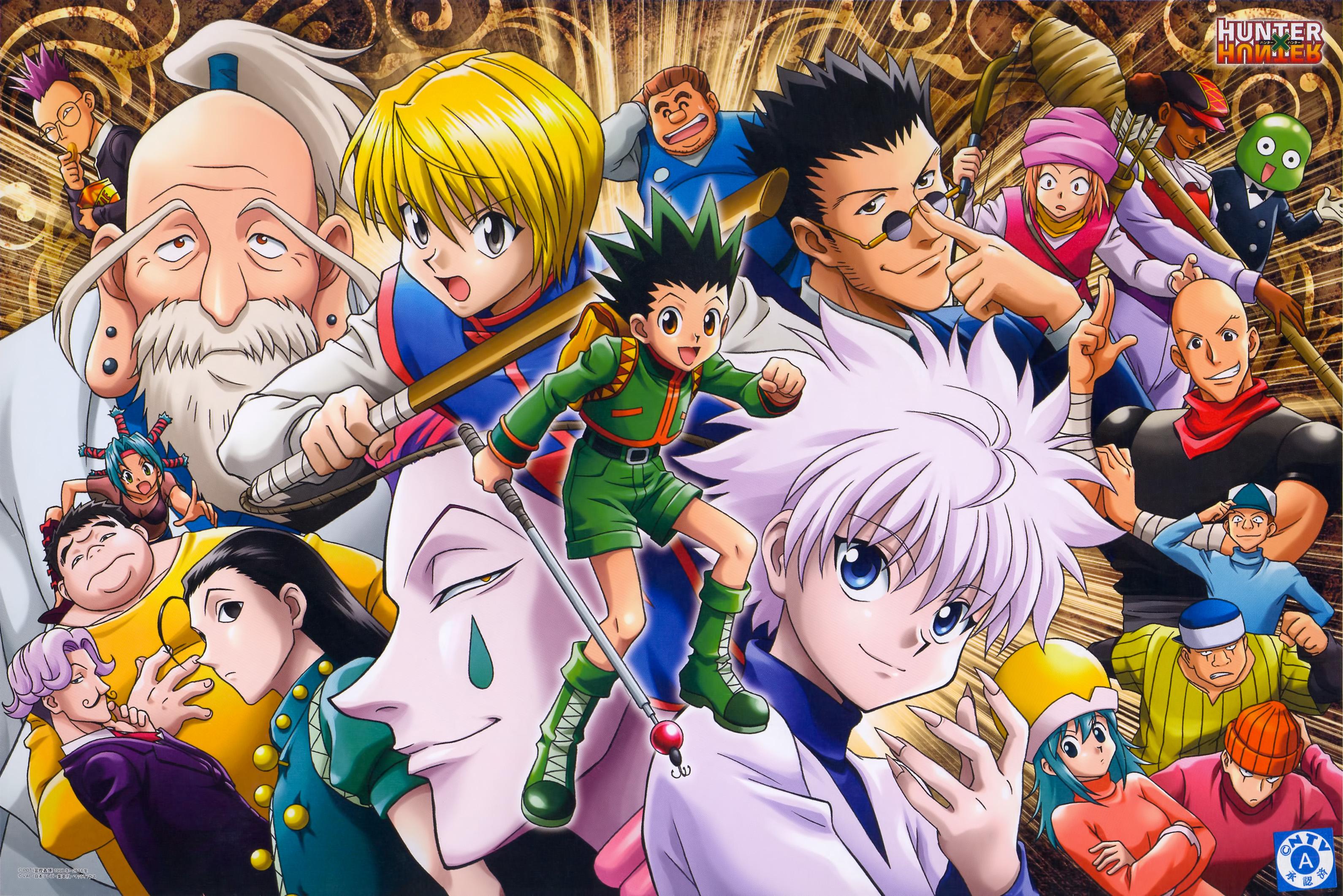 Hunter x Hunter Anime HD Wallpaper Animation Wallpapers 3181x2123