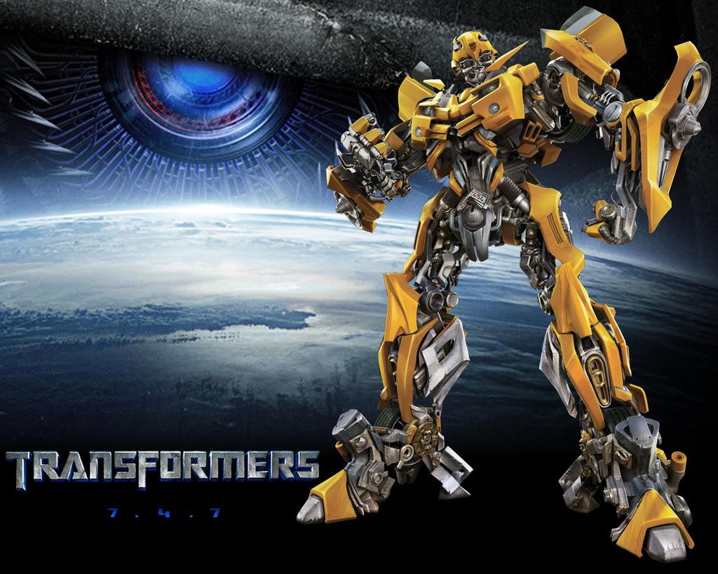 Transformers 2 Bumblebee Wallpaper 2 1024x819
