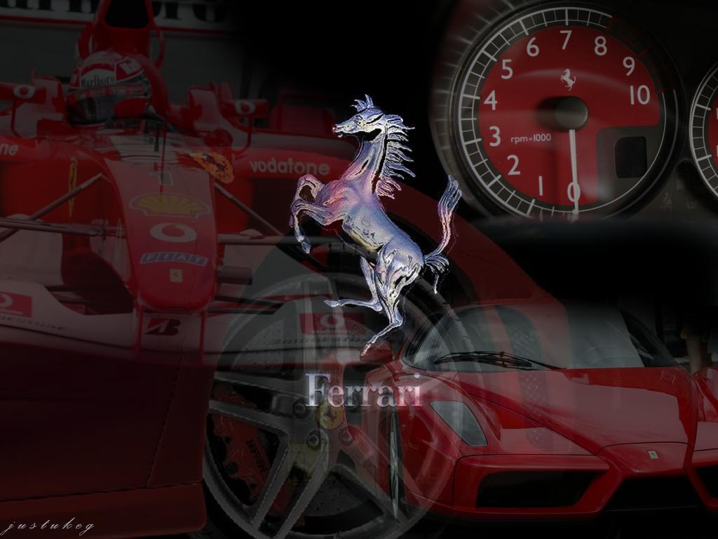 75 Ferrari Logo Wallpapers On Wallpapersafari