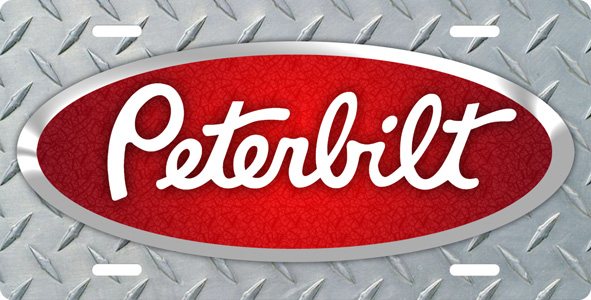 Peterbilt Logo Black Images Pictures   Becuo 591x300