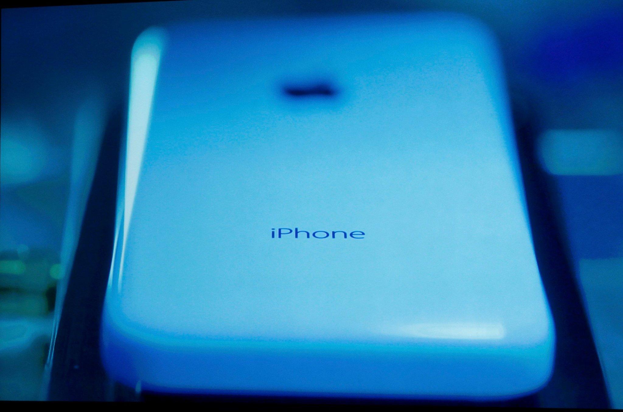 IPhone 5C Blue Wallpaper