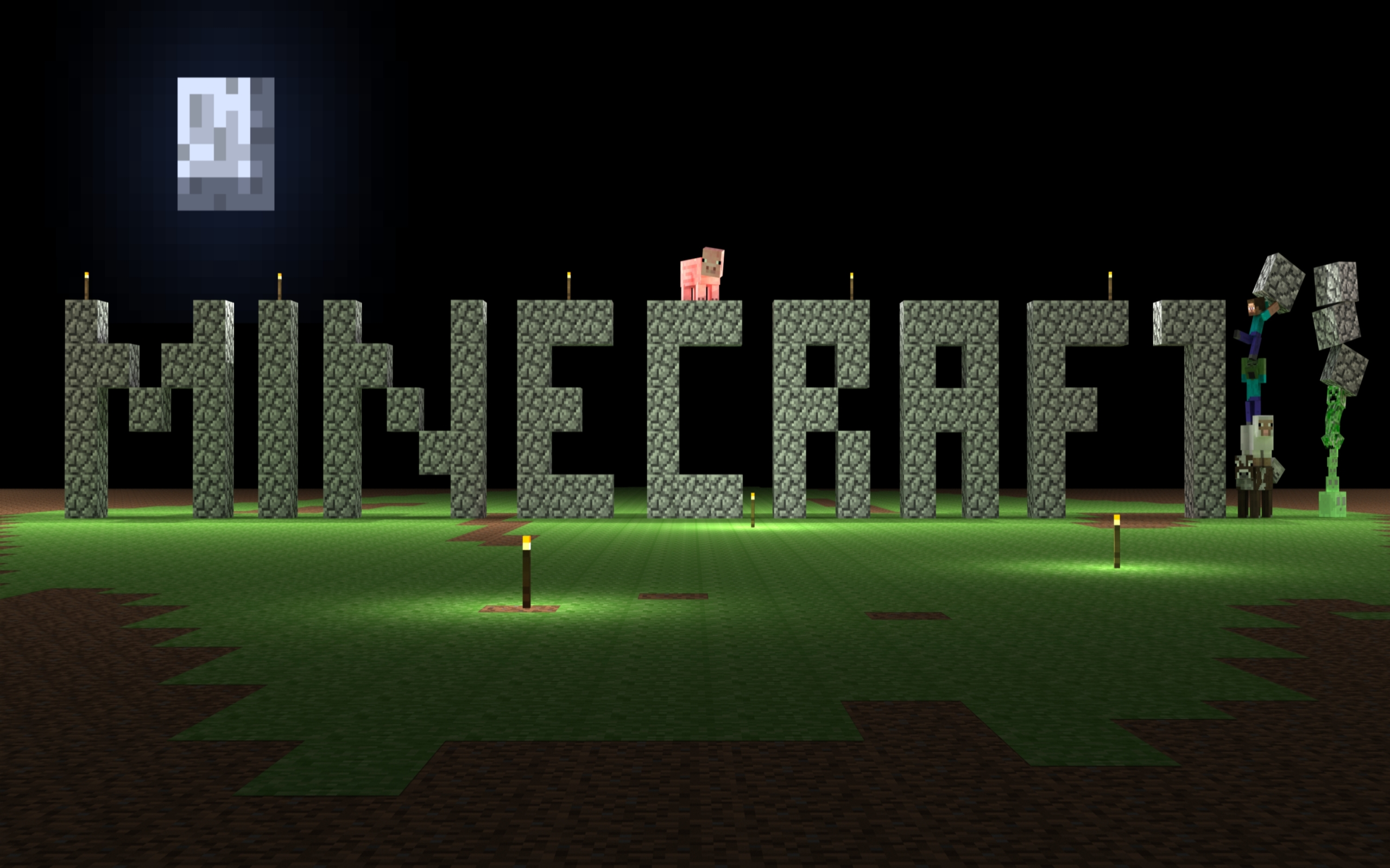 Minecraft game wallpapers and images   wallpapers pictures photos 2560x1600