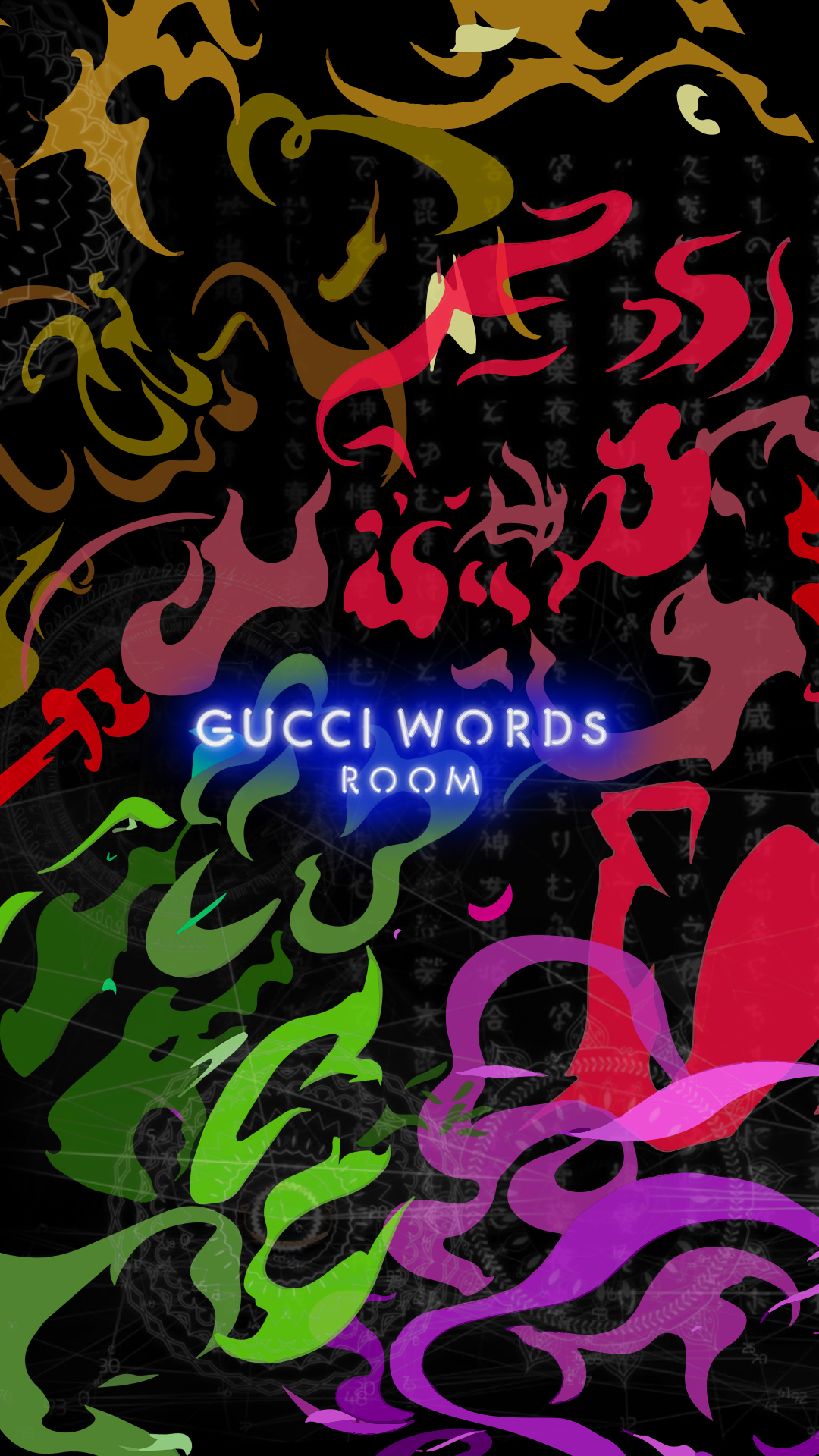Gucci 4 Rooms Wallpapers Gucci Official Site United States 1080x1920
