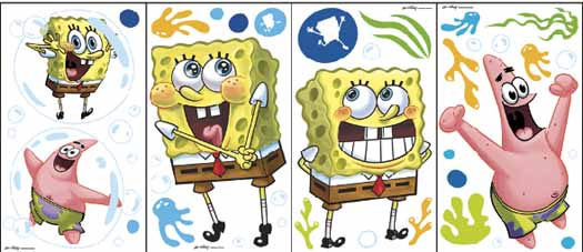 Nickelodeon Spongebob Squarepants Jam Band Wall Paper Border Roll