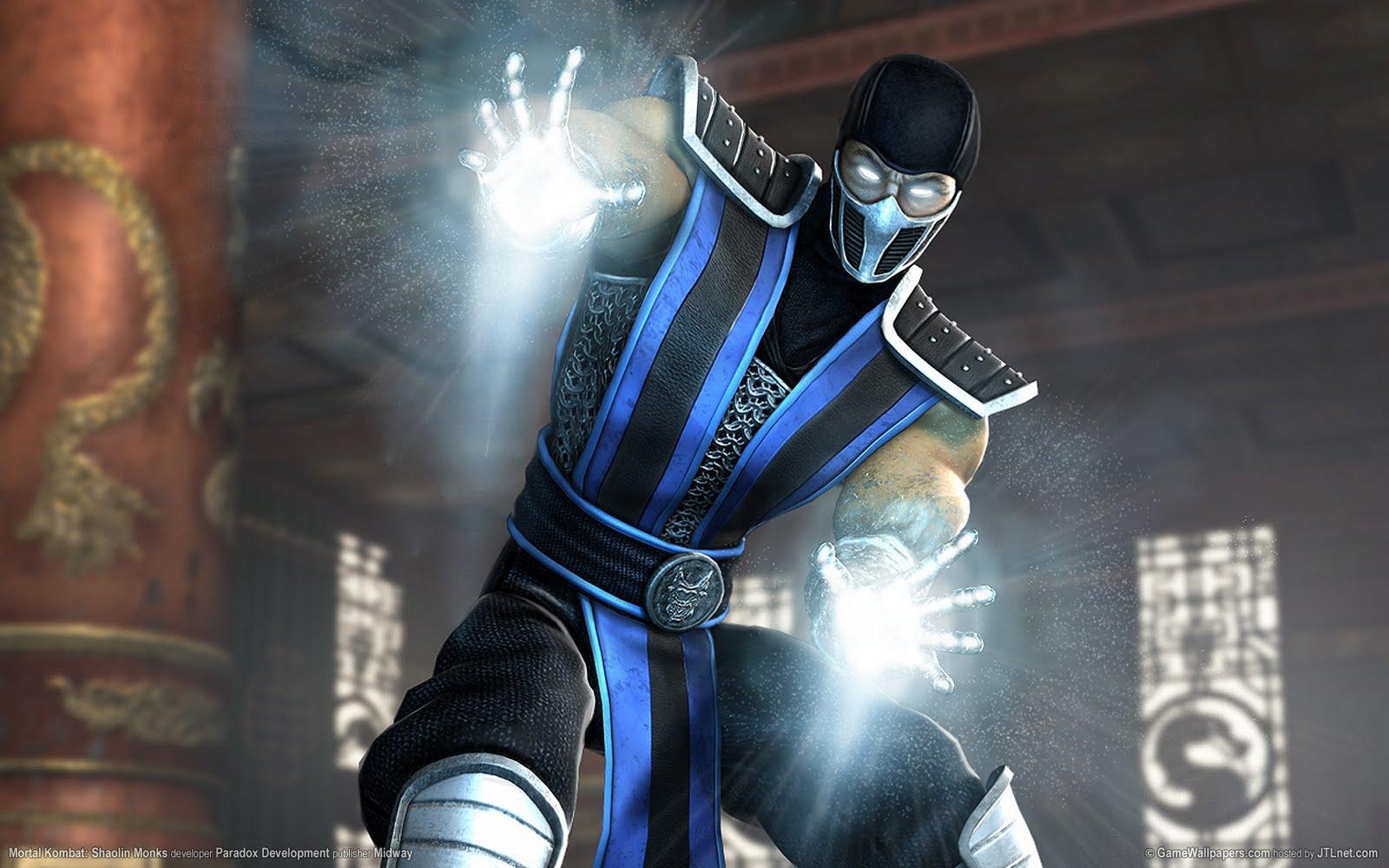 Free Download Mortal Kombat Shaolin Monks Sub Zero Wallpaper