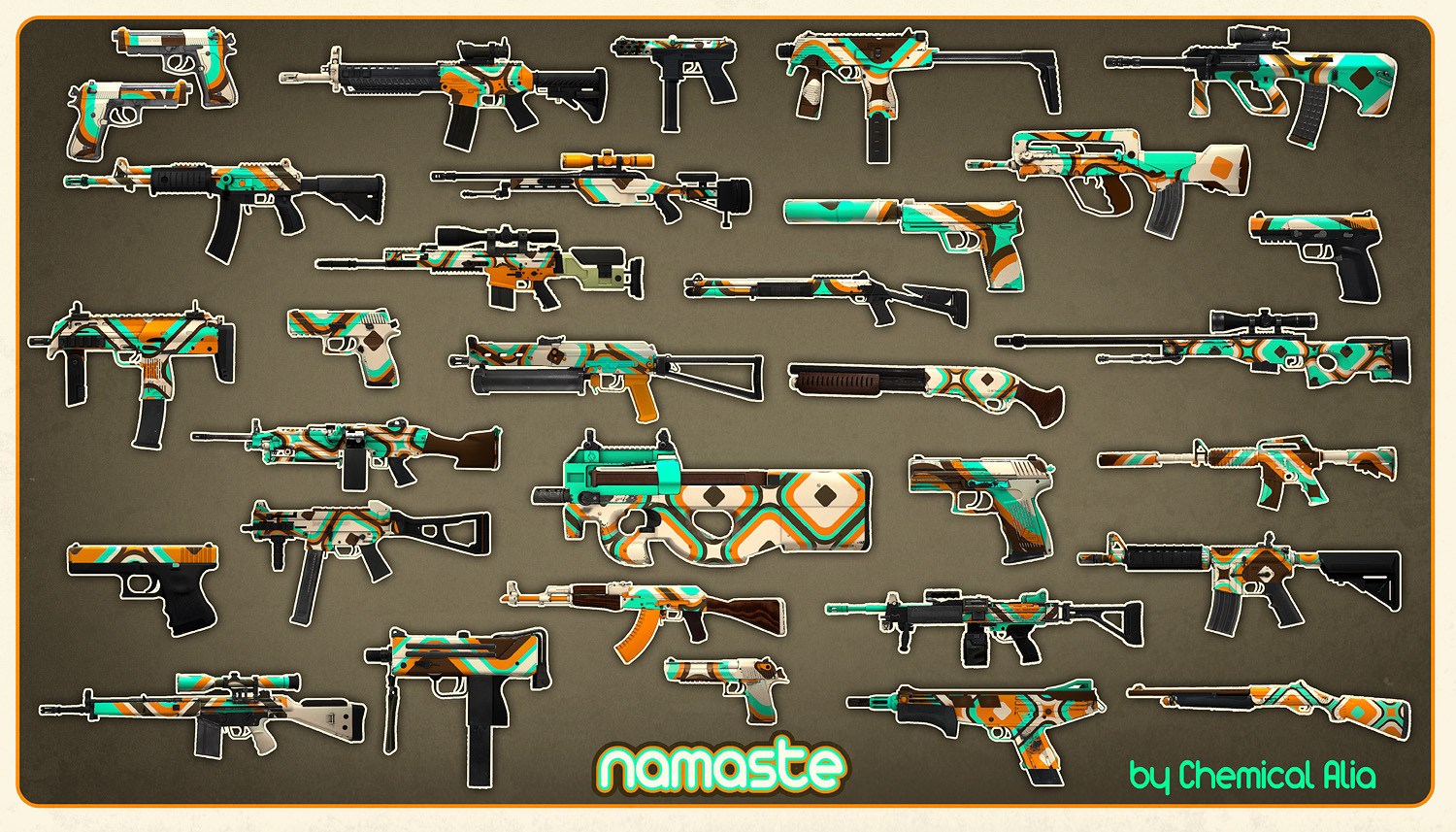 CSGO Weapon Wallpapers