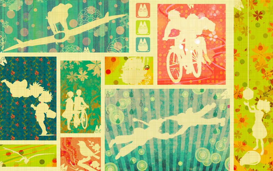 Studio Ghibli Wallpaper by Sbi96 900x563