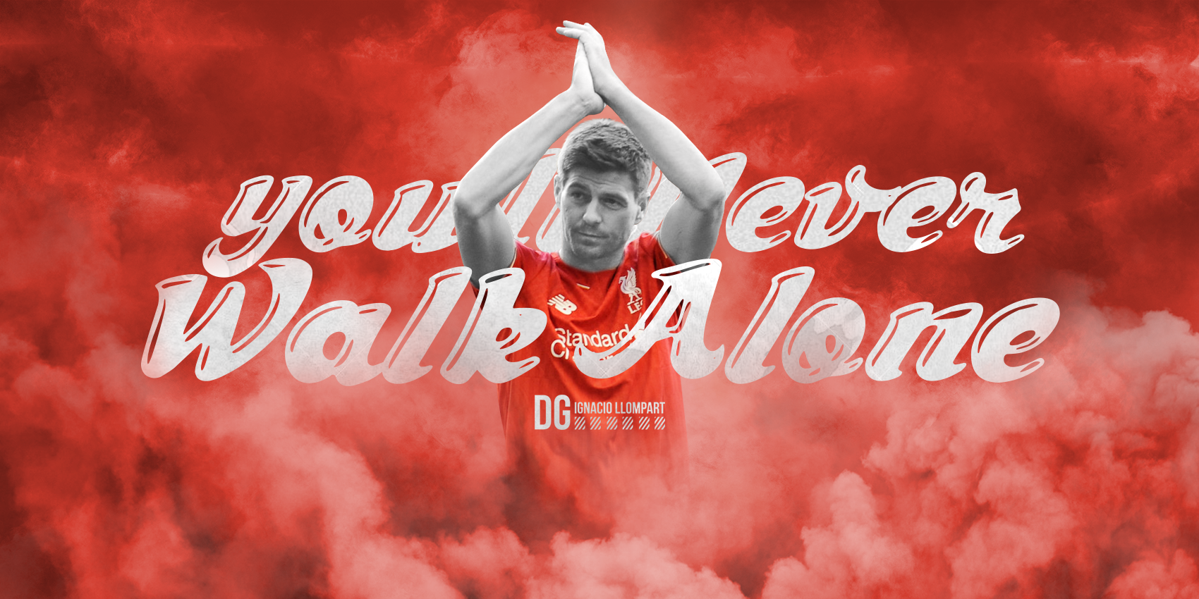 Steven Gerrard   Youll Never Walk Alone by ignaxxx on 1700x850