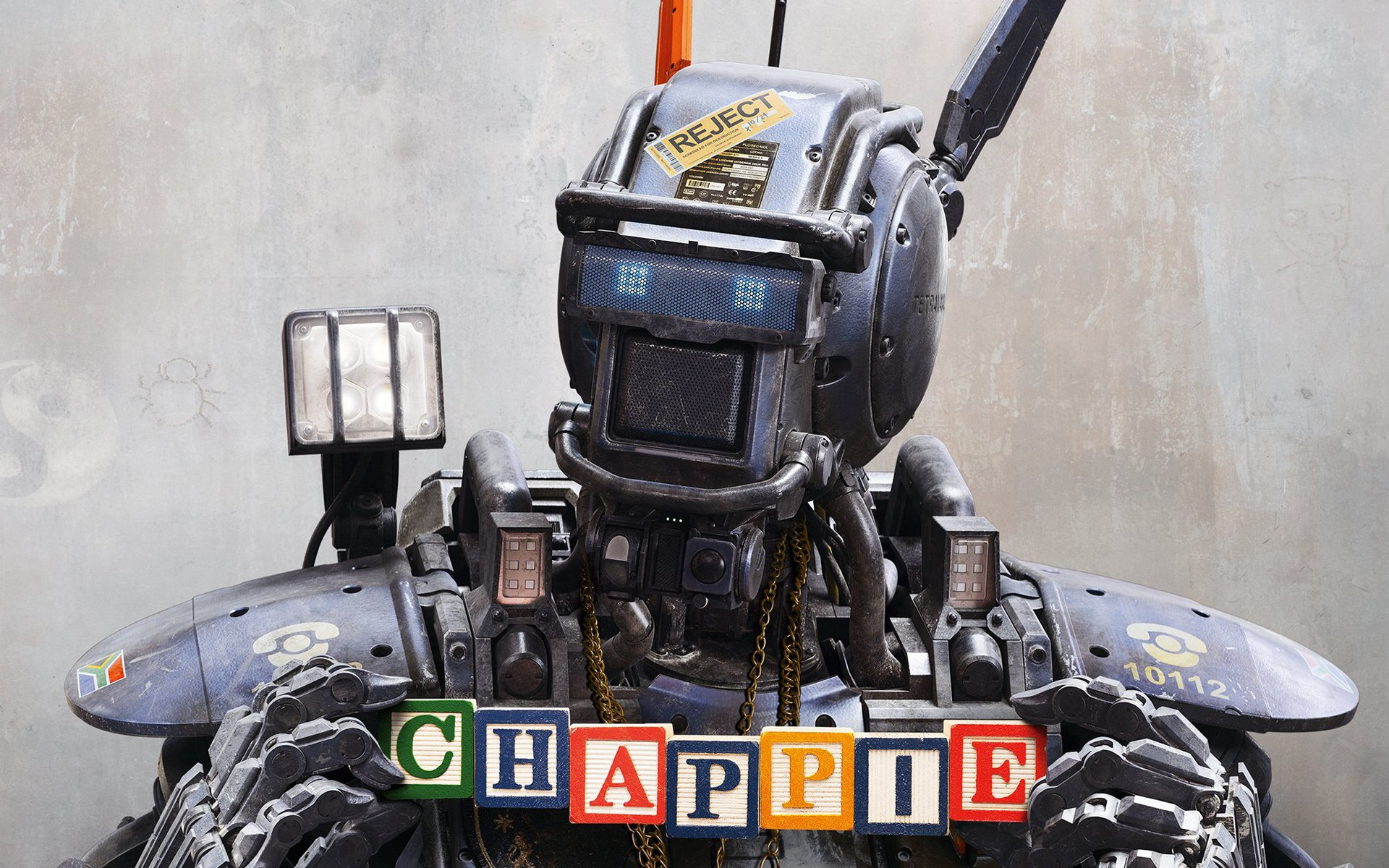 Chappie 2015 Movie Wallpapers HD Wallpapers 1920x1200