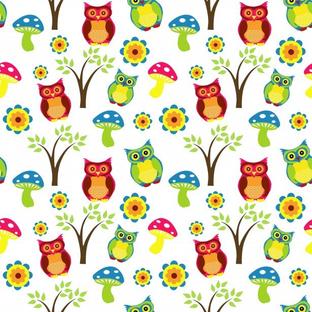 Cute Owl Wallpaper Pattern Stock Photo   Public Domain Pictures 615x615