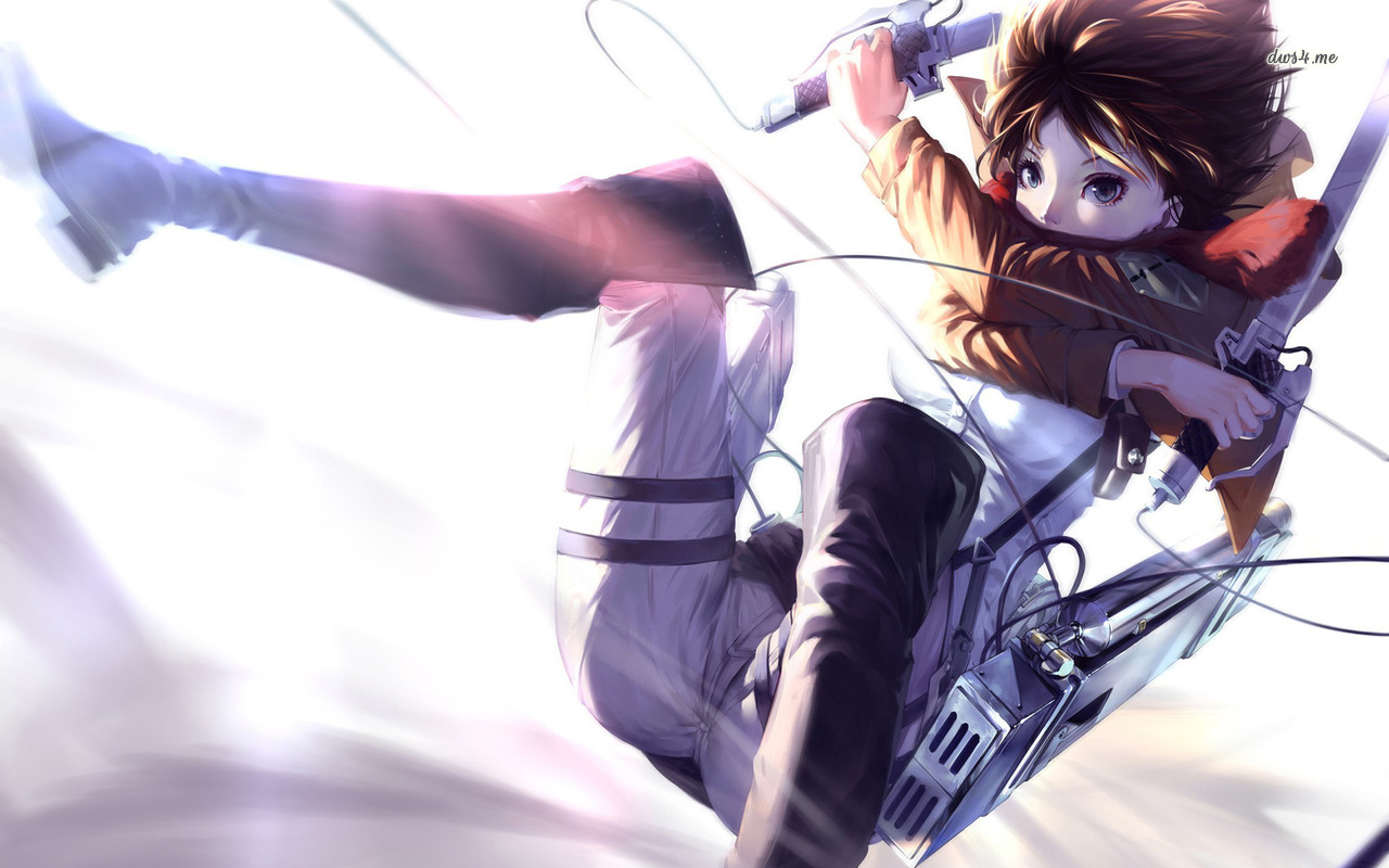 Mikasa Ackerman   Attack on Titan wallpaper   Anime wallpapers 1280x800