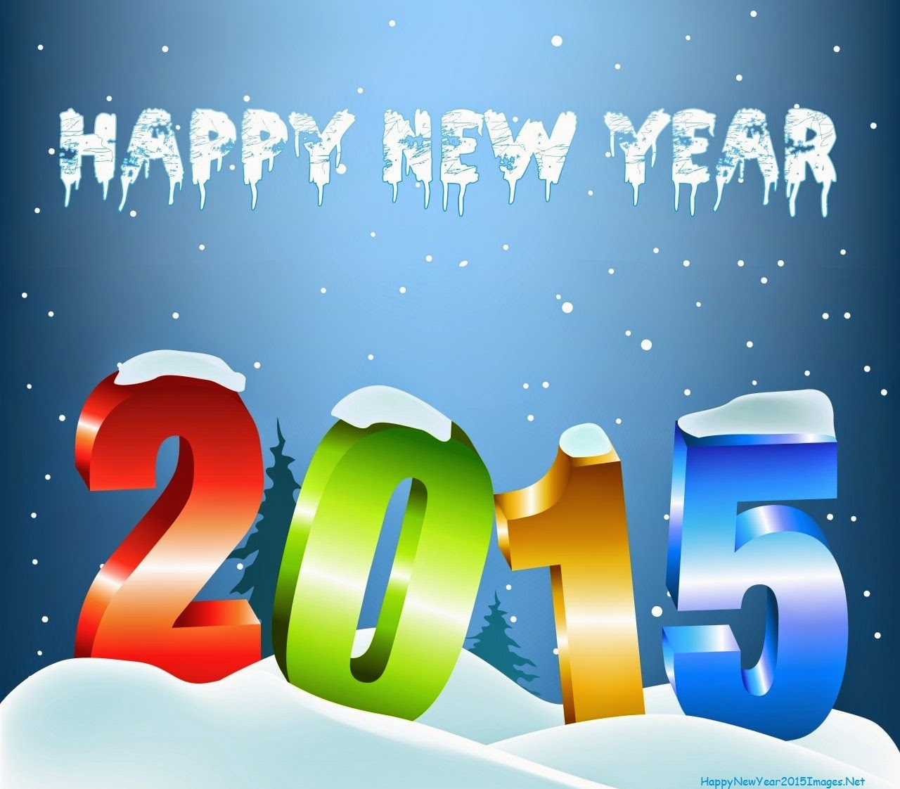 Latest 3D Happy New Year wallpaper 2015 Scoopak 1280x1122