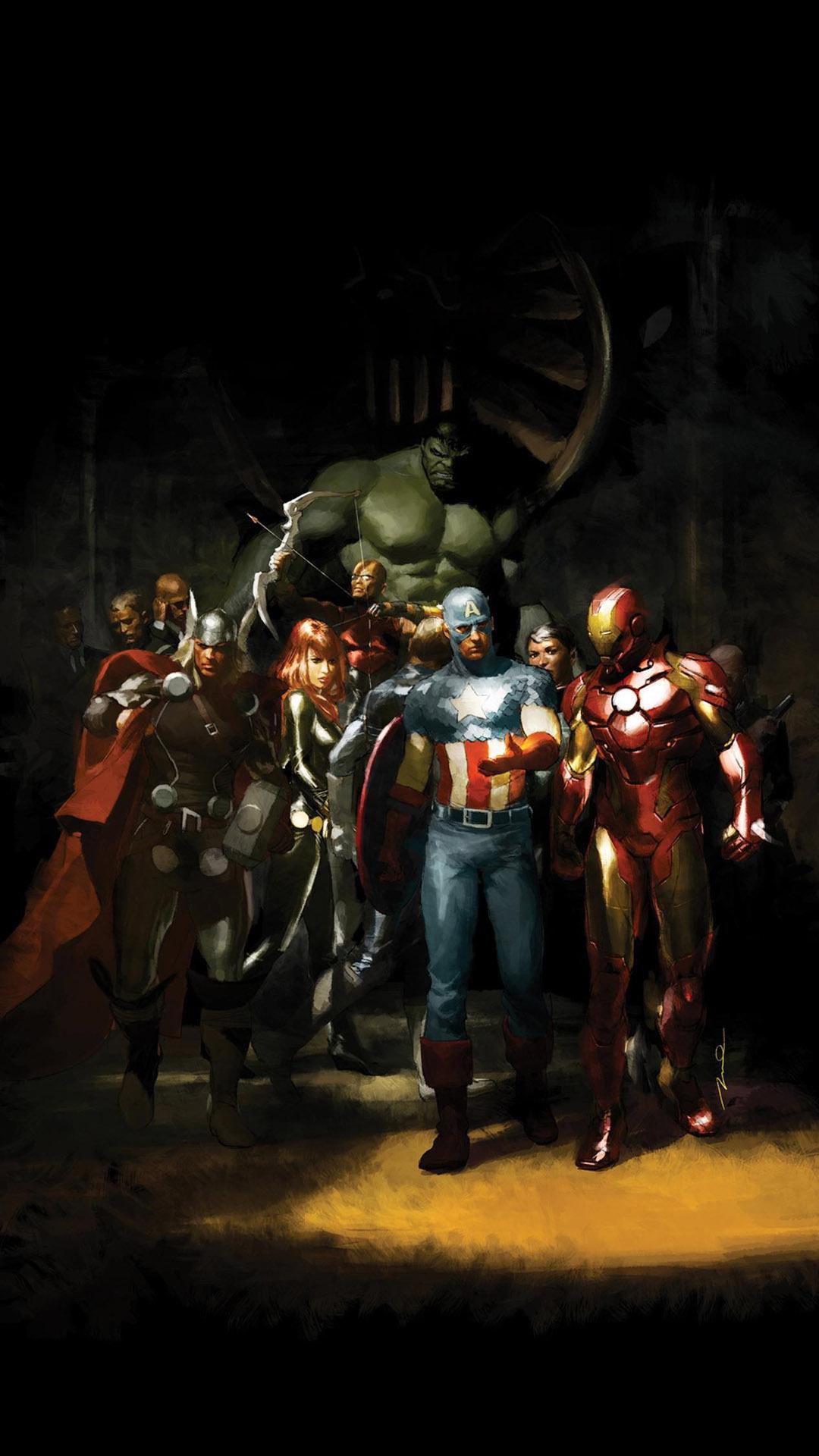 Avengers Iphone Wallpaper HD 1080x1920