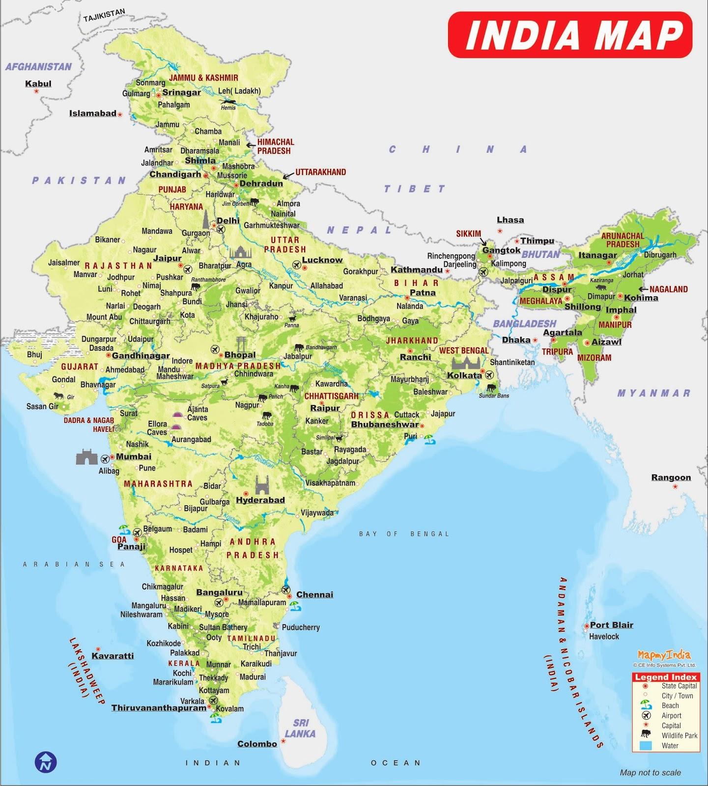 india map image hd english