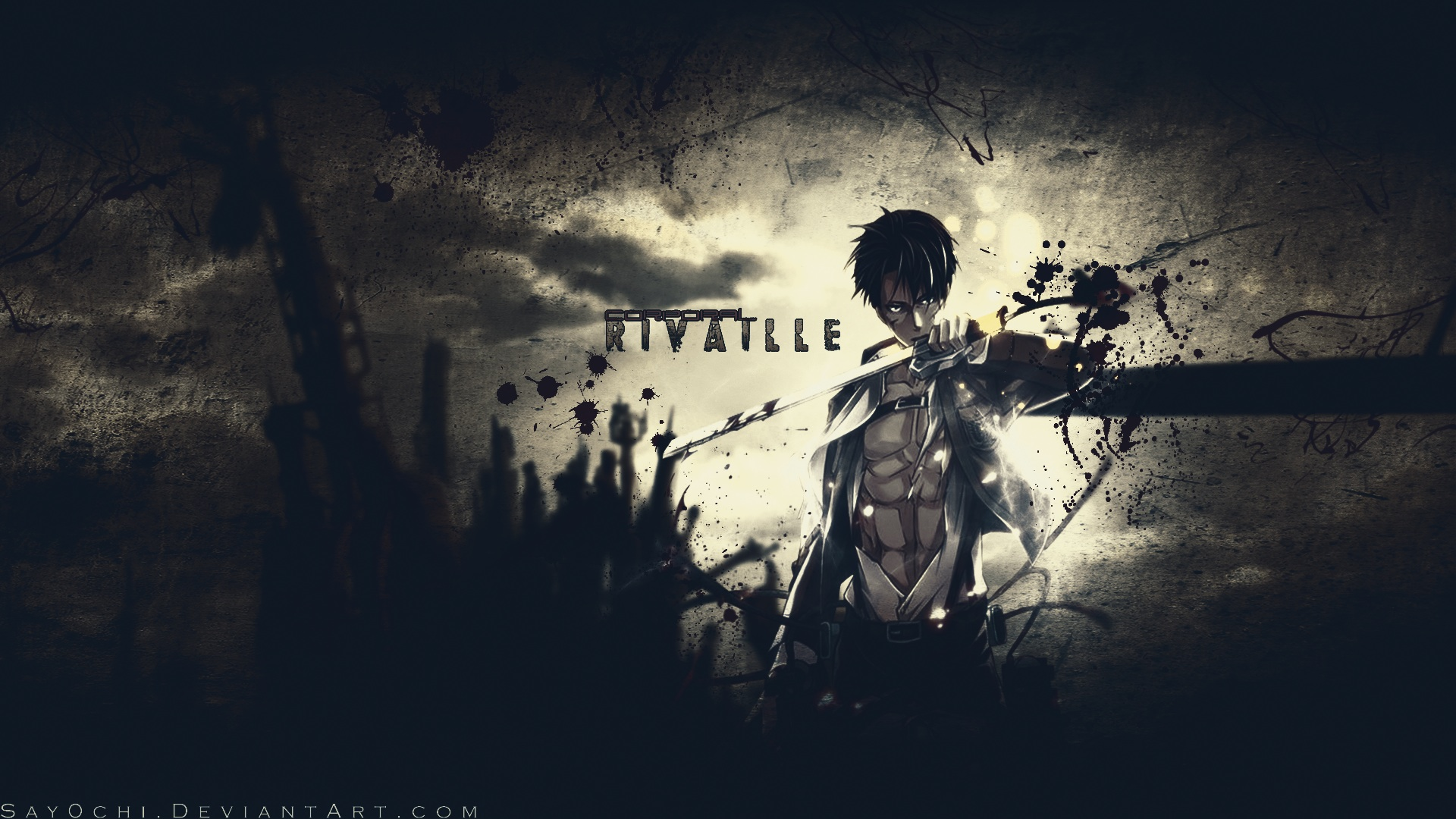 Rivaille Wallpaper   Shingeki no Kyojin Attack on titan 1920x1080