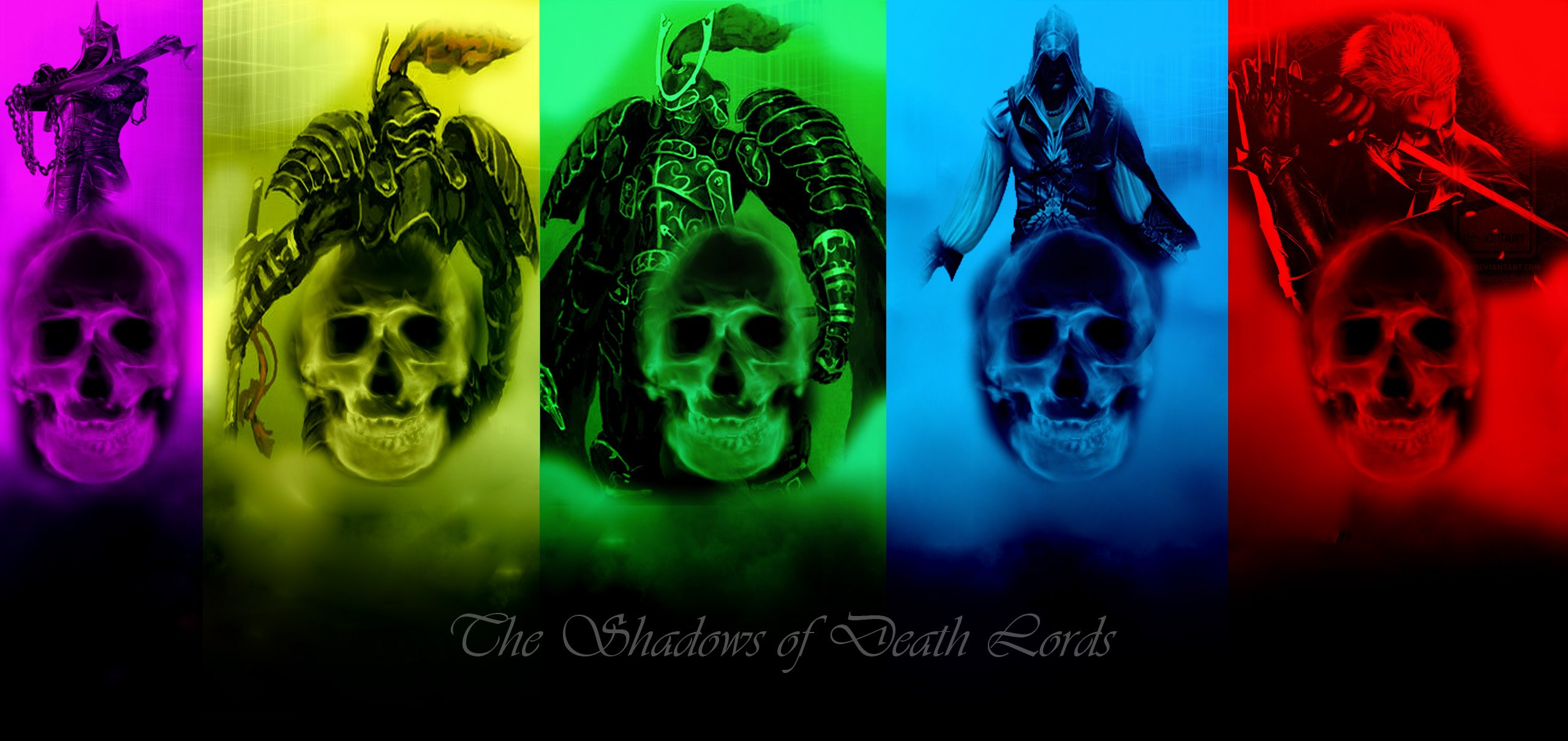 Cool Green Skull Wallpapers   Viewing Gallery 2560x1209
