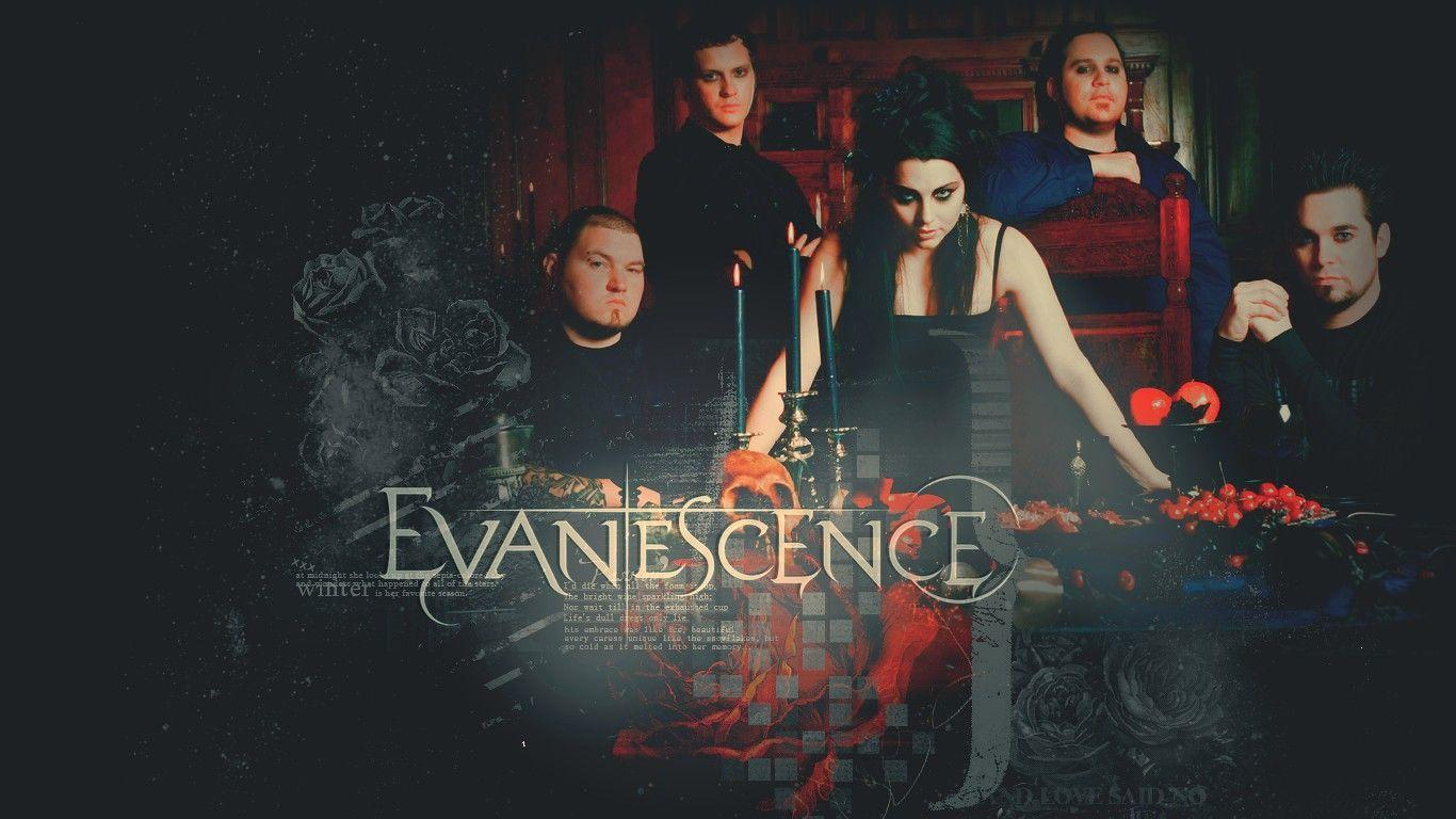 Evanescence Wallpapers 2016 1366x768