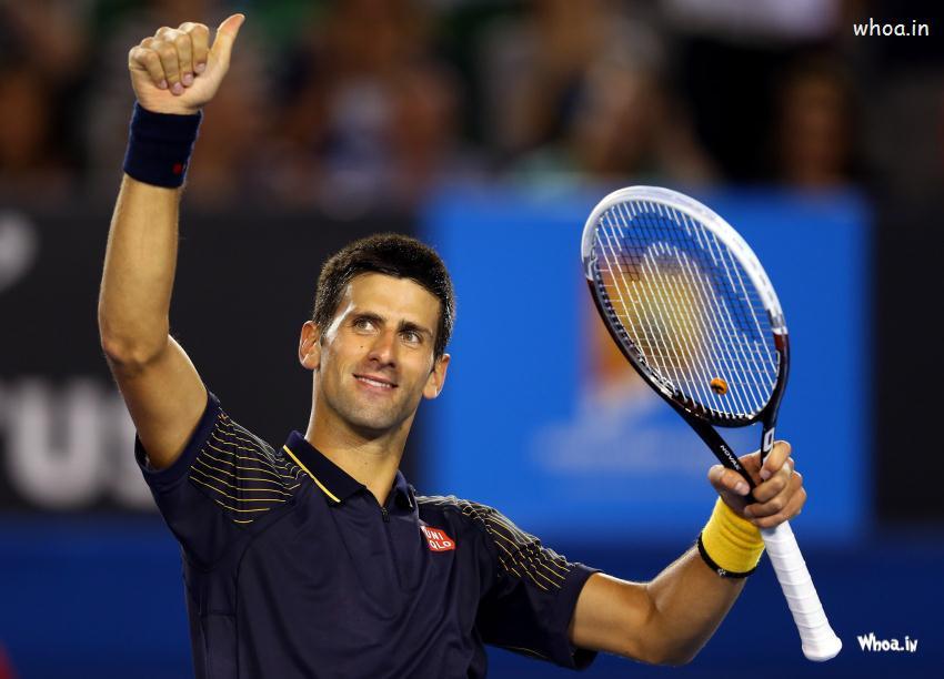 novak djokovic celebrates wallpapernovak djokovic tennis player hd 850x612