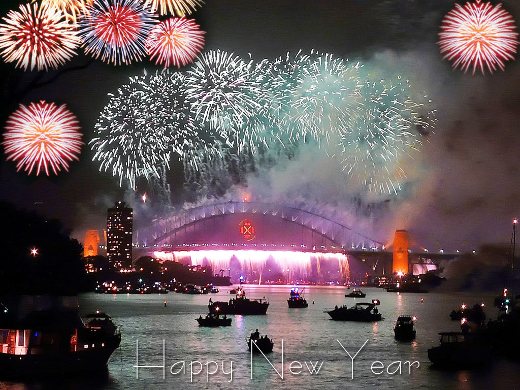 happy new year images fireworks download 4k amazing 1024x768