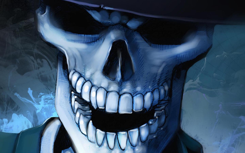 Fotos   Download Skull Wallpaper 1440x900