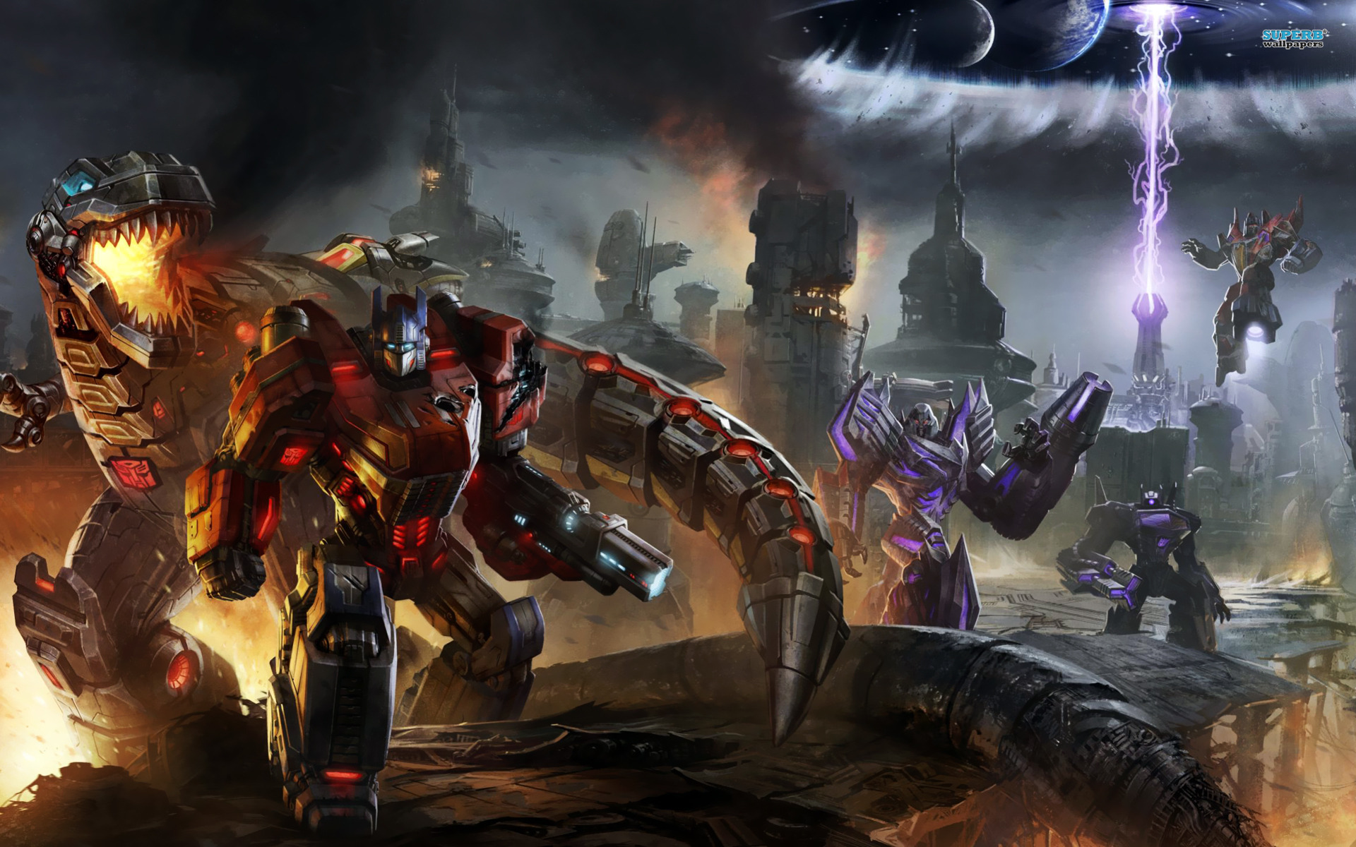 Pics Photos   Transformers Fall Of Cybertron Wallpaper 1920x1200