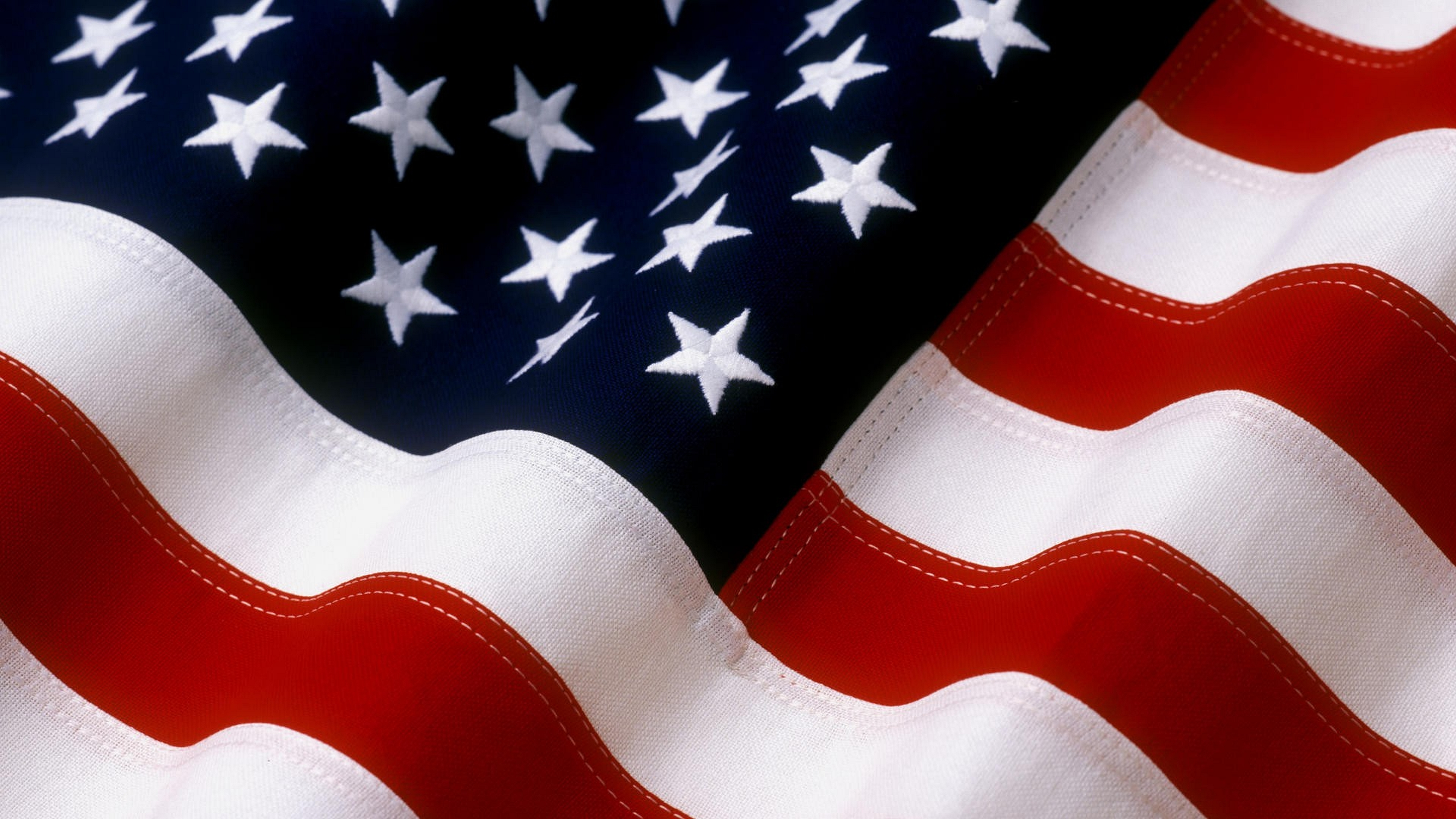 American Flag Background 3840x2160