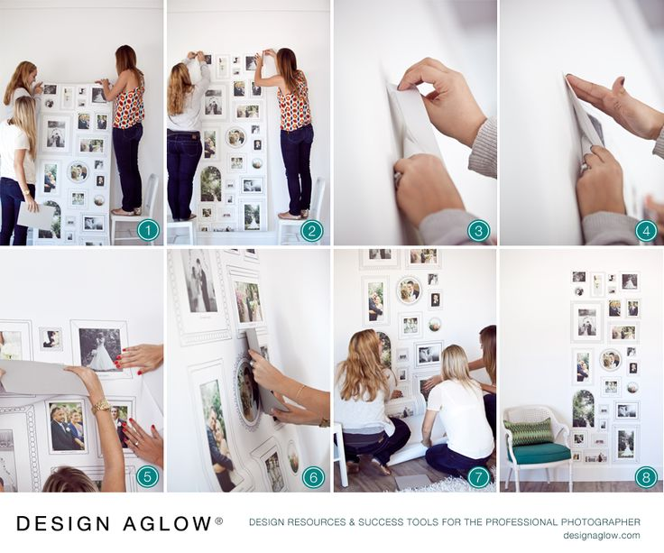 How to Install a Wallpaper Cling Make your own with a pre designed 736x613