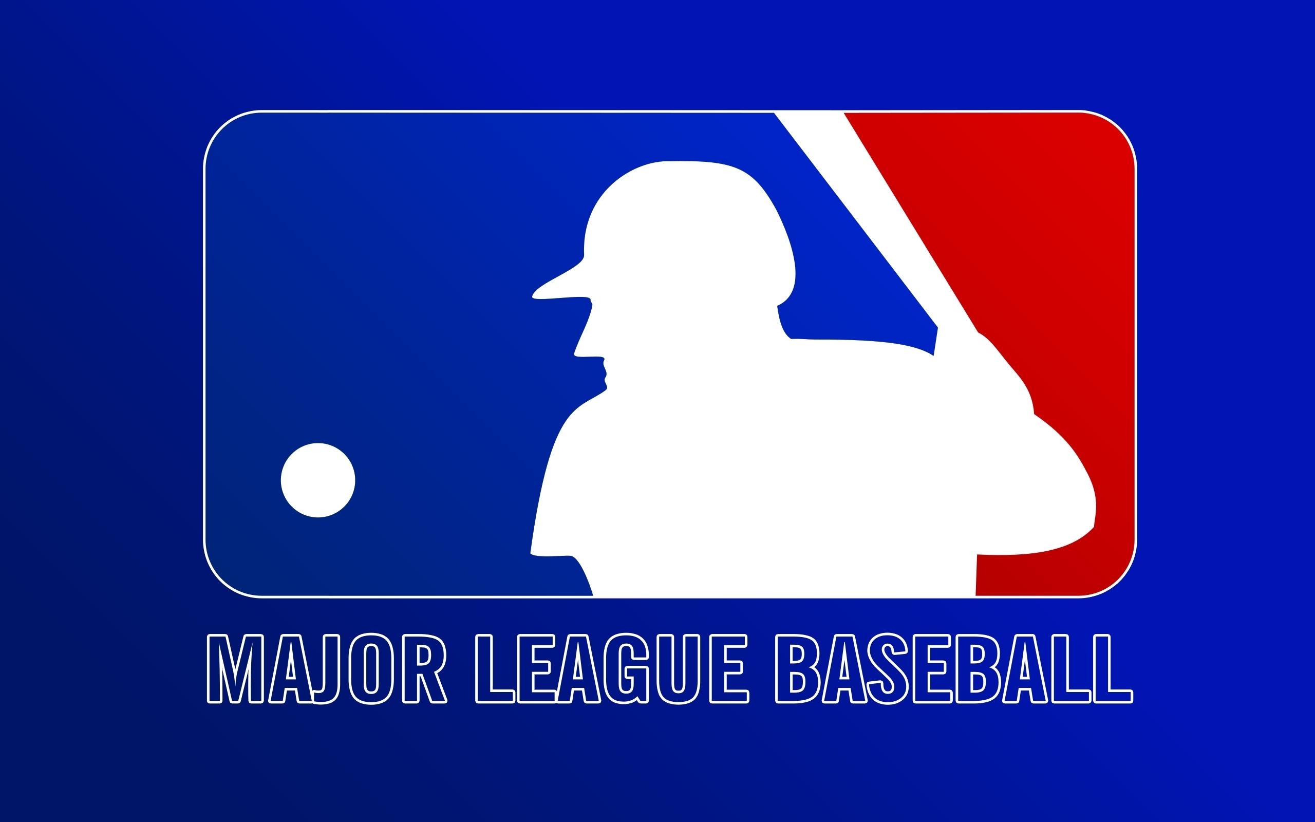 Blue baseball mlb logos HD Wallpapers 2560x1600