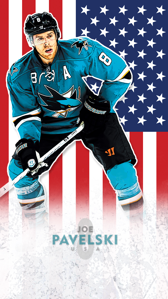 SJ Sharks iPhone Wallpaper 640x1136