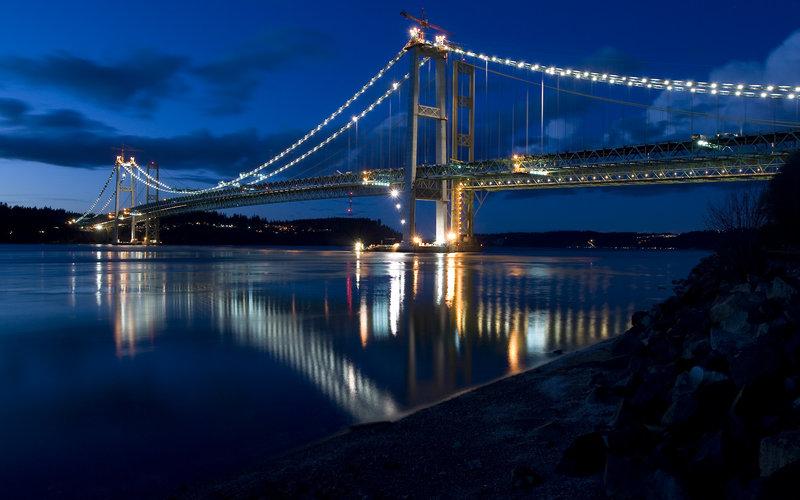 Tacoma Narrows Bridge by alexquick 800x500