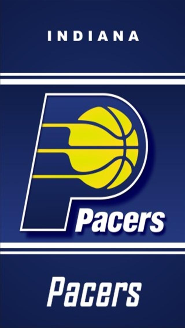 Indiana Pacers LOGO iPhone Wallpapers iPhone 5s4s3G Wallpapers 640x1136