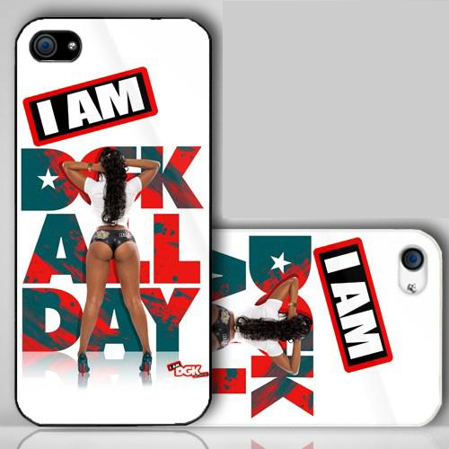 Dgk Models Dgk girl i am dgk logo iphone 500x500
