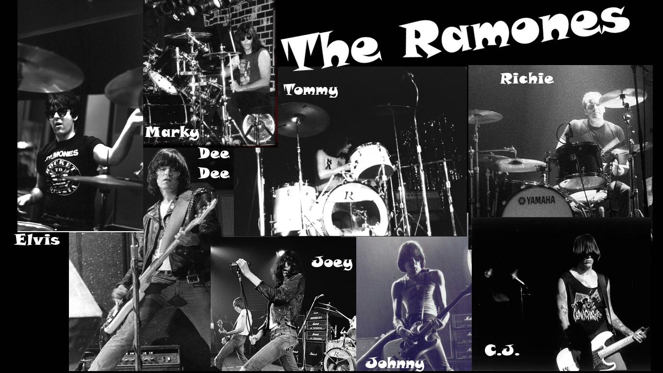 The Ramones Wallpaper - WallpaperSafari