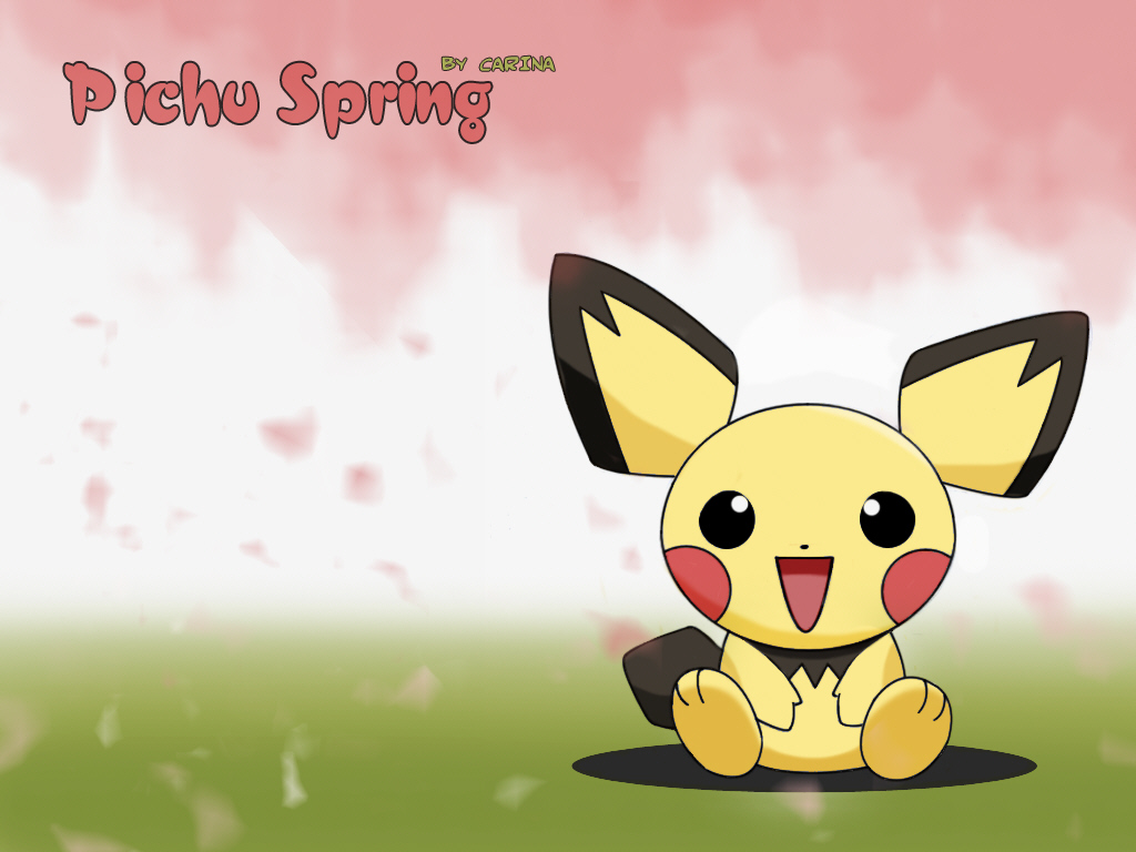 Cute Pichu Wallpaper Images Pictures   Becuo 1024x768