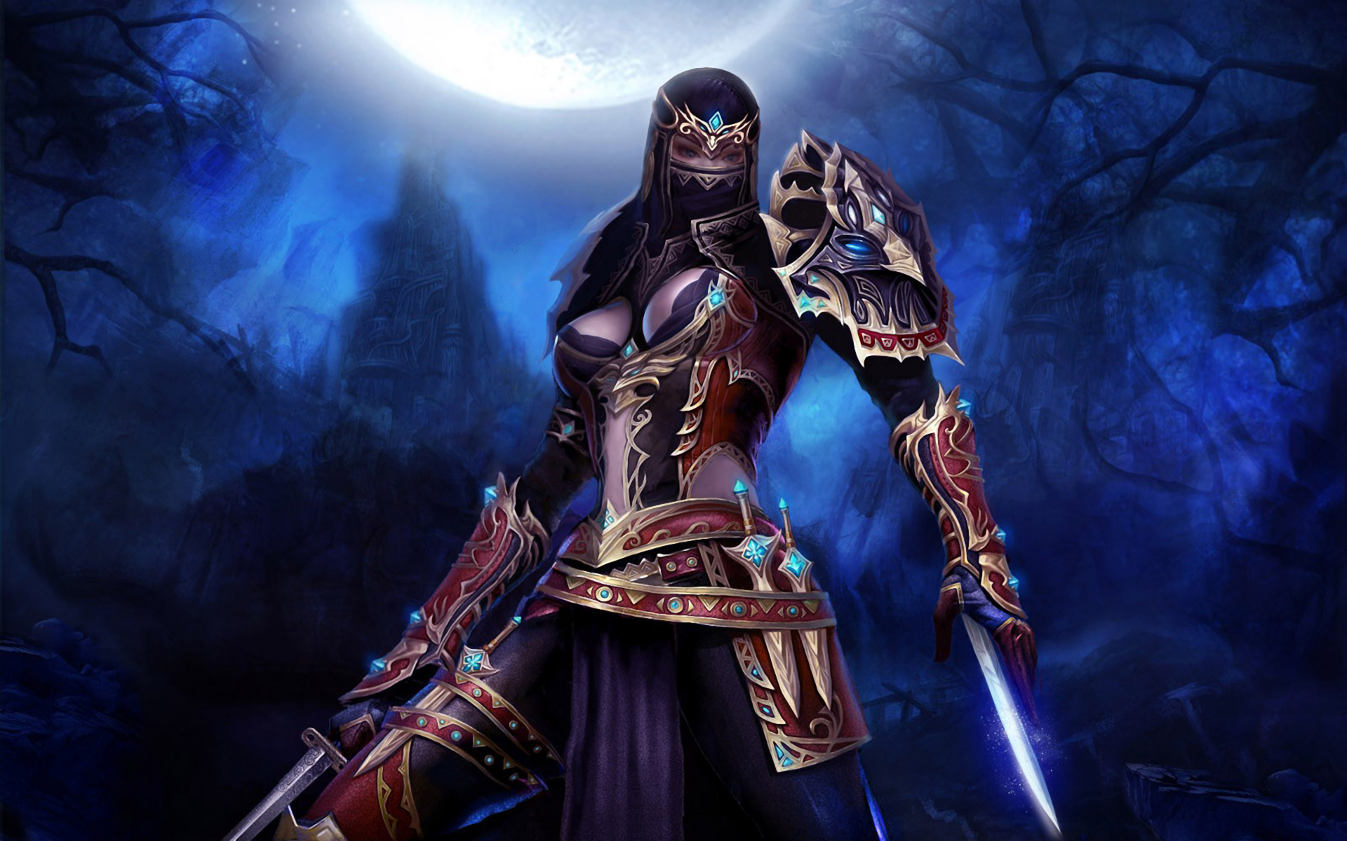 Female Assassin Wallpaper Images Pictures   Becuo 1920x1200