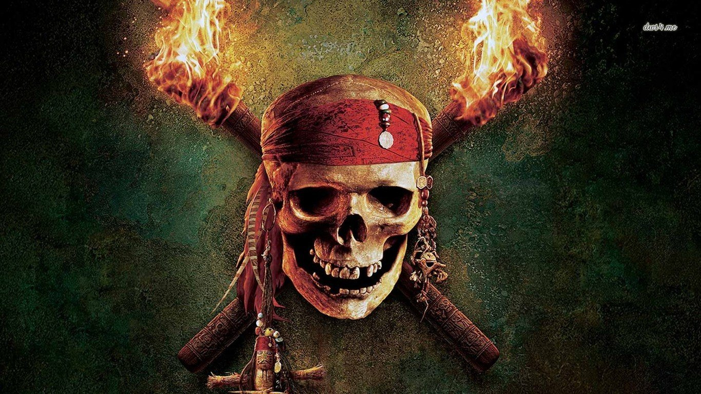 Free Download Pirates Of The Caribbean Wallpaper 1366x768 For