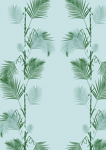 Palm Print Wallpaper in Palm Green Flickr   Photo Sharing 354x500