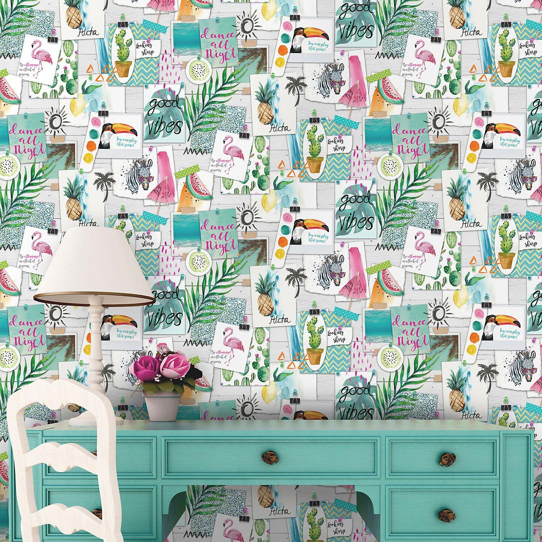 K2 Quirky Wallpaper Room wallpaper designs Room wallpaper 1500x1500