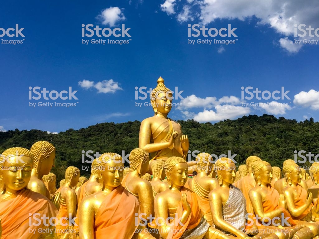 Magha Puja Memorial Buddhist Park Thailand Stock Photo More 1024x768