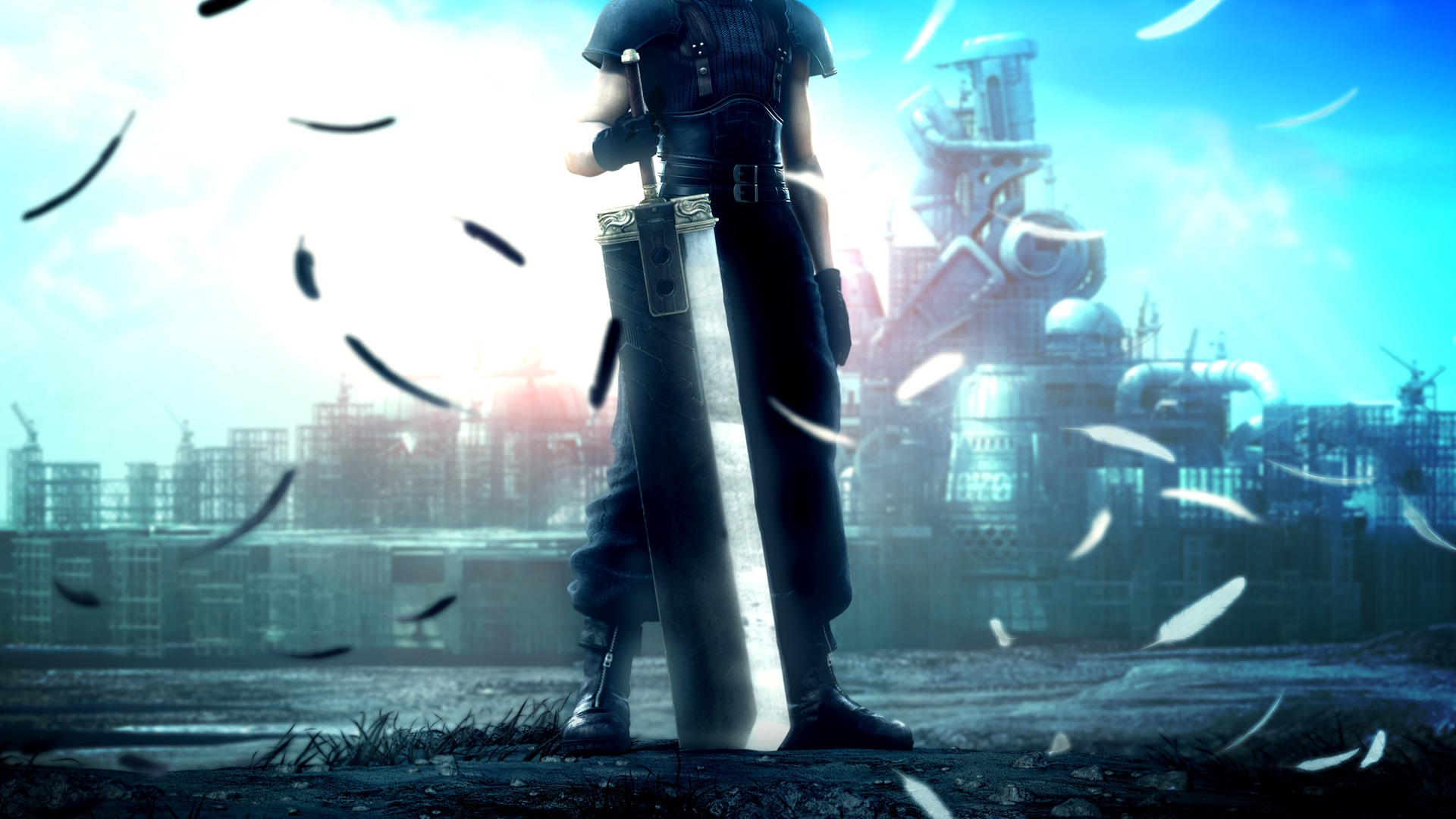 News Final Fantasy VII Remake E3 Pressekonferenz 2015 Sony 1920x1080