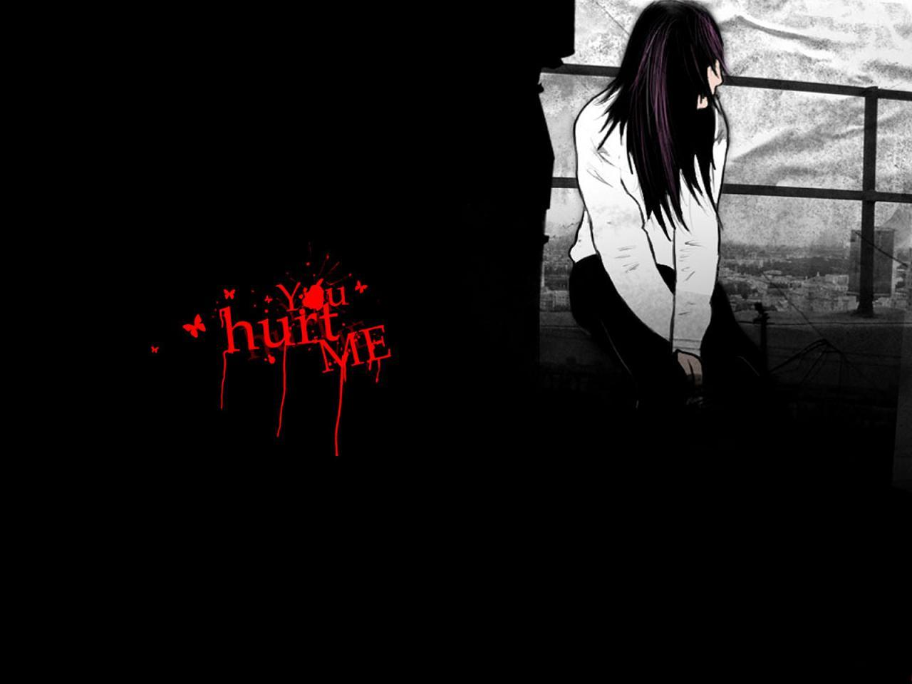 Alone Emo Girl Wallpaper Emo Wallpapers of Emo Boys and Girls 1280x960